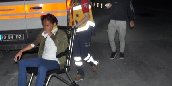 Babasının minibüsünü kaçıran 13 yaşındaki çocuk şehir turunu hastanede bitirdi