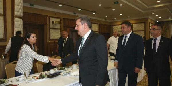 BBP lideri Mustafa Destici: Milletimin sağduyusuna güveniyorum
