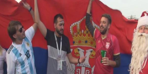 Dünya Kupasını takip eden Ruslar Türkiye hüsranı