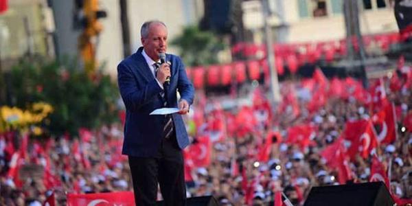 Muharrem İnce Maltepe'de Cumhurbaşkanı Erdoğan'a veryansın etti