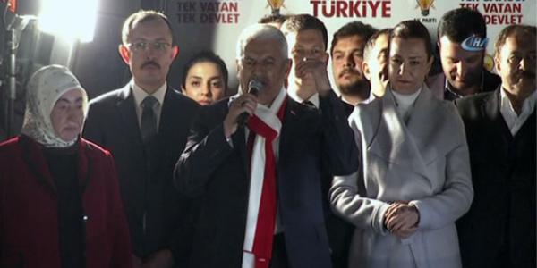 Başbakan Binali Yıldırım: Bu seçimin kaybedeni Türkiye'yi dize getirmek isteyenler