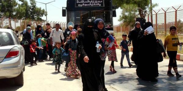 Ramazan Bayramı için ülkelerine giden Suriyeliler dönüşe geçti
