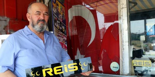 Türk bayrağı asılı marketi yakma girişimiyle ilgili 4 gözaltı