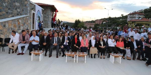 Şehit Başsavcı Mustafa Alper'in ismini taşıyan tesiste ilk konser Ferhat Göçer'den