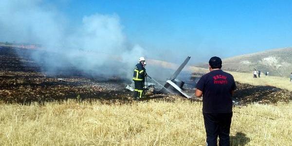 Gaziantep Üniversitesi'ne ait eğit uçağı Adıyaman'da düştü: 1 ölü