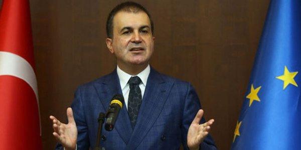 Bakan Ömer Çelik, sonuç belgesi açıklayan AB'ye veryansın etti