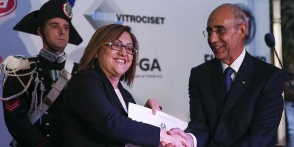 Gaziantep Büyükşehir Belediye Başkanı Fatma Şahin'e İtalya'dan devlet liyakat nişanı