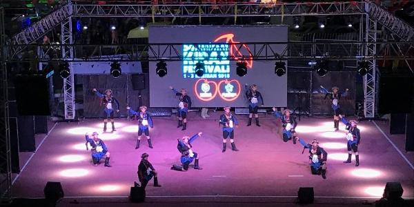Tekirdağ Kiraz Festivali'nde halk oyunları heyecanı