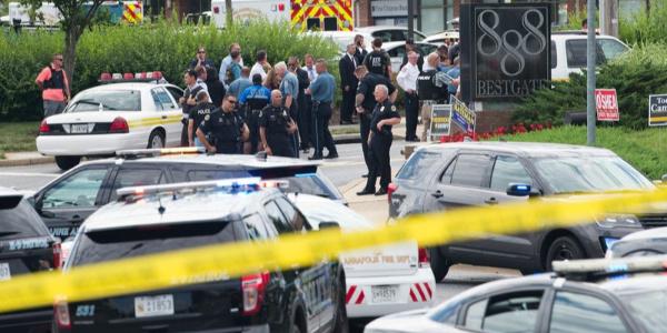 ABD'de yerel gazete binasına düzenlenen saldırıda 5 kişi öldü