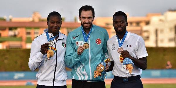 Akdeniz Oyunları'nda Ramil altın,, Yasmani bronz madalya kazandı