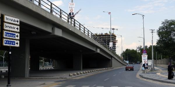 Ankara'da bazı yollar 20 gün boyunca kapanacak