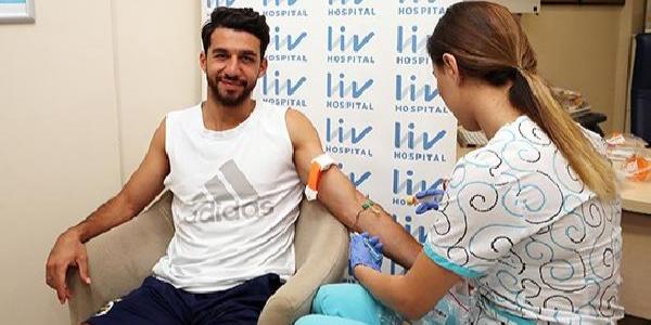 Fenerbahçeli futbolcular sağlık kontrolünden geçti