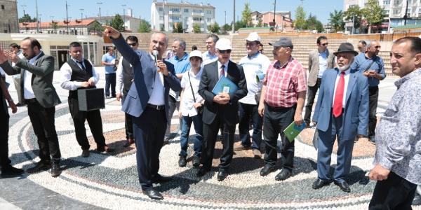 Türkiye'nin dört bir yerindeki Sivaslı bürokratlar memleketlerinde buluştu