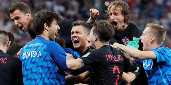 Hırvatistan, Danimarka'yı penaltı atışları sonucu evine yolladı
