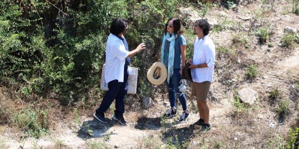 Hollywood yıldızı Megan Fox, belgesel çekimi için Çanakkale'de