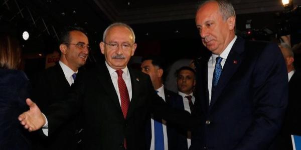 Kemal Kılıçdaroğlu ile Muharrem İnce arasında 3 saat süren görüşme