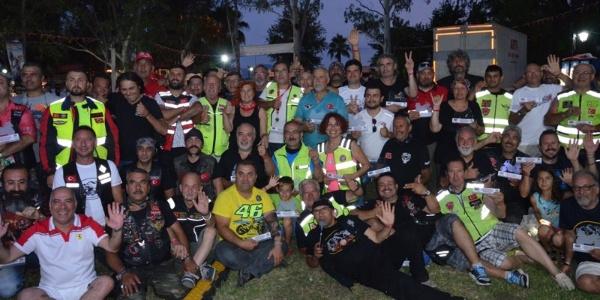 2 bin 157 motosiklet tutkunu Köyceğiz'de buluştu