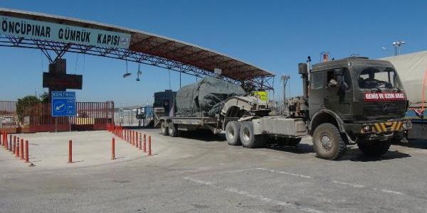 Türkiye'den Suriye'ye yeni askeri sevkiyat