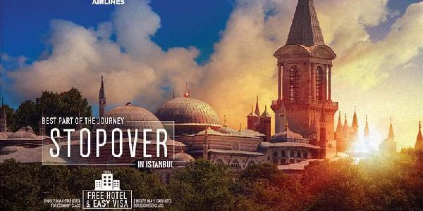 THY'den 14 bin transfer yolcuya ücretsiz İstanbul turu