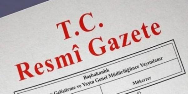 3 bakanlıkla ilgili yeni atamalar Resmi Gazete'de yayımlandı