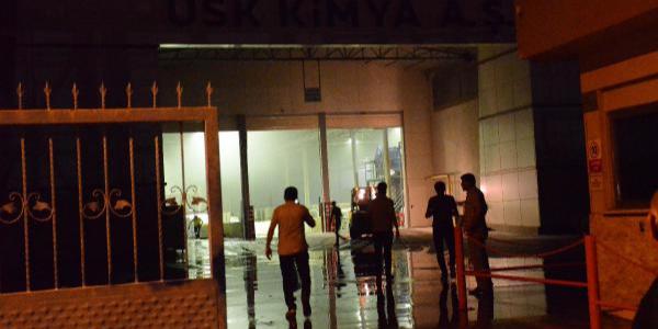 Aydın Nazilli'de kimya fabrikasında kazan patladı: 4 işçi yaralı
