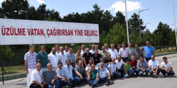 İskenderun'daki komutanlarıyla 30 yıl sonra Ankara'da buluştular