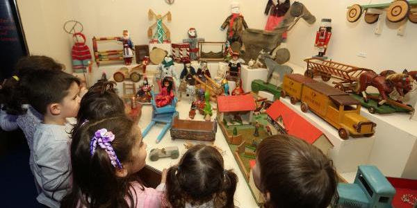 Türkiye'nin en büyük oyuncak müzesi çocuklarla dolup taşıyor
