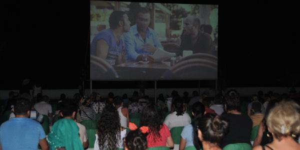 Erdemli'de yazlık sinema günleri başladı