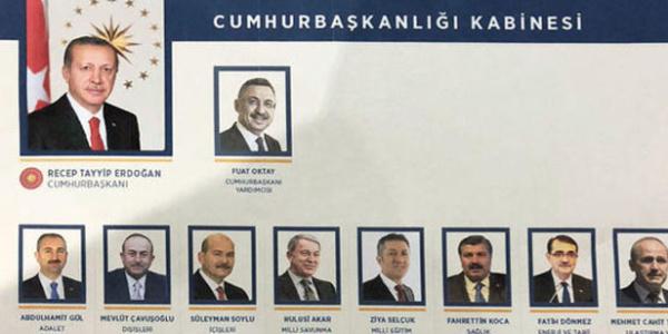 Erdoğan kabinesinde görev alan yeni bakanlarla ilgili ayrıntılar