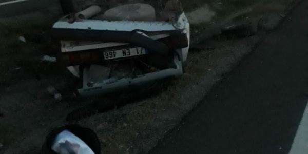 Kırıkkale-Samsun yolunda kaza; aynı aileden 4 kişi yaralandı