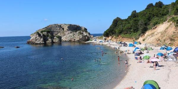 Kandıra'nın saklı cenneti Sardalya Koyu tatilcileri bekliyor