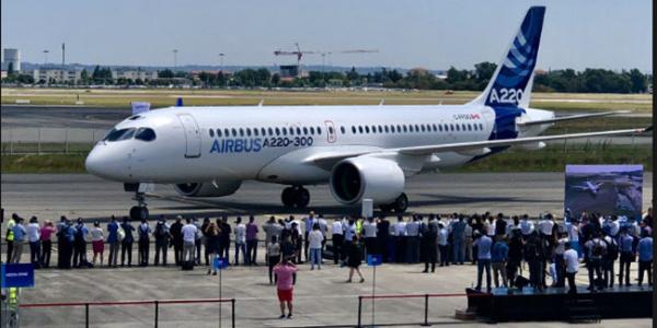 Airbus'ın yeni uçağı Kanada'dan