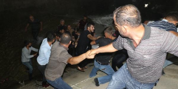 Silvan'da kanala düşen kardeşlerden birinin cesedi bulundu