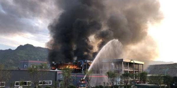 Çin'de teknoloji şirketinde büyük patlama : 19 ölü, 12 yaralı