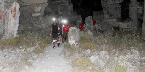 Fethiye'de yürüyüş sırasında kaybolan iki turisti AKUT buldu