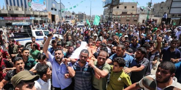 """Hamas'tan """"Büyük Geri Dönüş"""" için devam kararı"""