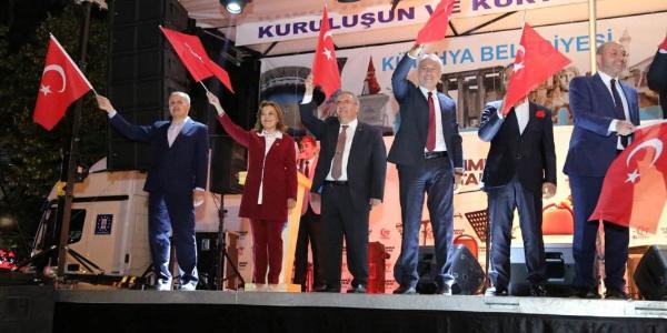 Kütahyalılar, 15 Temmuz'un ikinci yıl dönümünde Orhan Hakalmaz ve Esat Kabaklı ile coştu