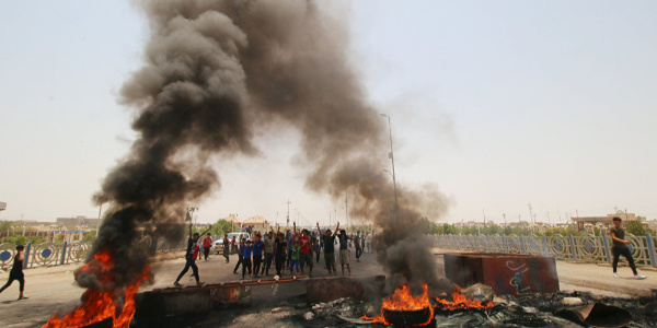 Irak'ın güneyindeki gösteriler Bağdat'a sıçradı