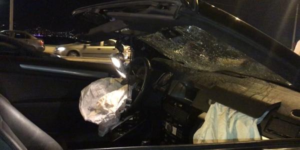 İzmir'de baba -kız  kazada hayatını kaybetti