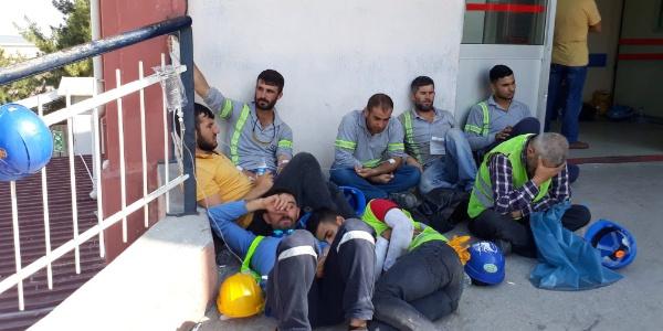 Star Rafineri'de çalışan 250 işçi yemekten zehirlendi