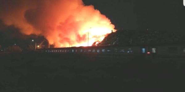 Osmaniye'de dehşet anları: Yolcu treni alevlerin içinden geçti