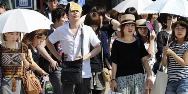 30 kişinin sıcaktan öldüğü Japonya'da halka uyarı