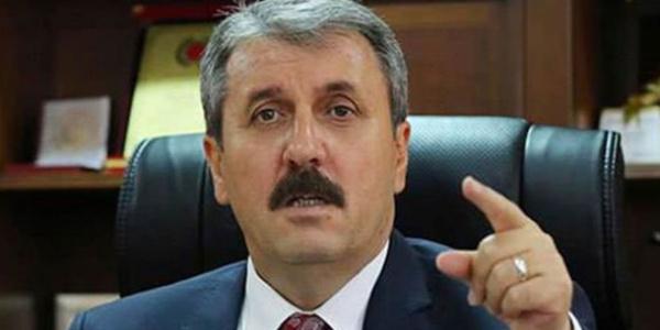Mustafa Destici bedelli askerliğin gelir düzeyine göre olmasını istedi