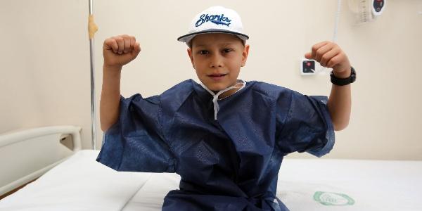 Popescu'nun emaneti Madalin ameliyatla tümörden kurtuldu