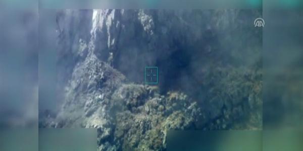 Hakkari'de 9 teröristi İHA'lar tespit etti, uçaklar vurdu