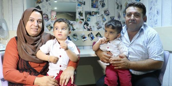 Mardinli ailenin 20 yıllık çocuk hayali Diyarbakır'da gerçekleşti