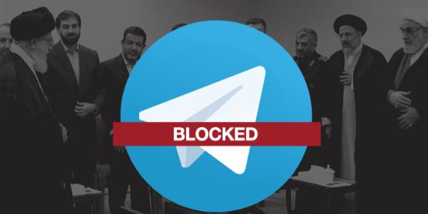 İran bin Telegram kanalının yayınına son verdi