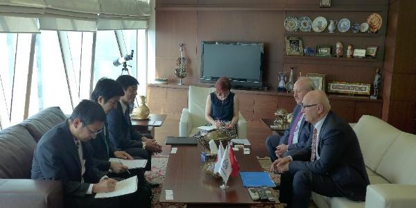 Japonya Büyükelçisi Akio Miyajima'dan Ankaralı sanayicilere çağrı
