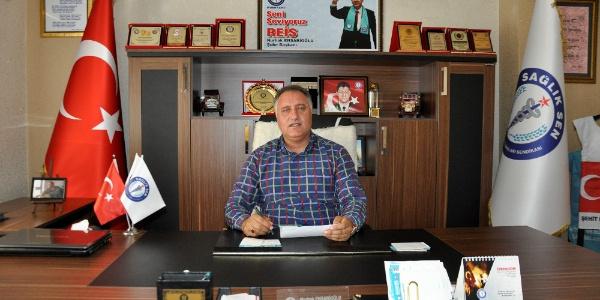 Sağlık Sen Şube Başkanı Nurhak  Ensarioğlu'ndan yıpranma payı tepkisi