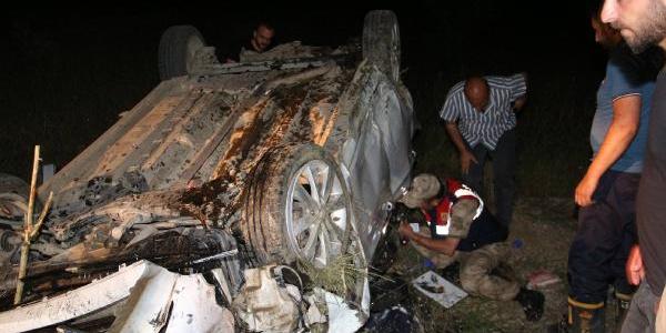 Babasını hastaneye götürürken kazada kaybetti